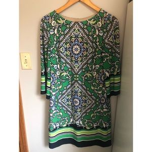 Jessica Howard dress size 8 floral green